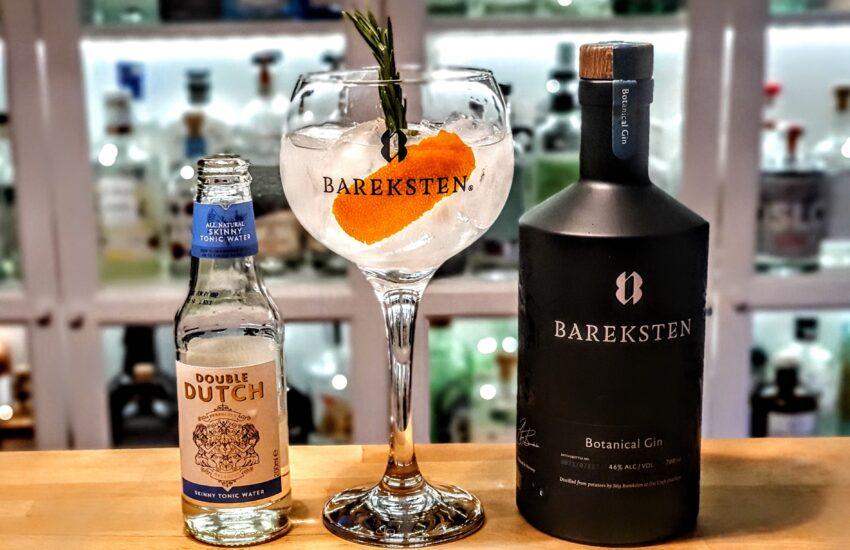 Gin og Tonic med Bareksten Botanical