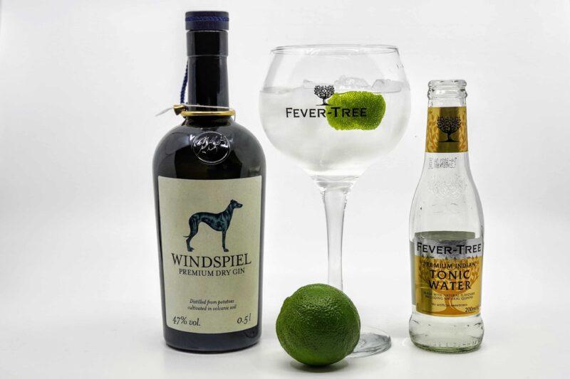 Gin og Tonic med Windspiel Premium Dry Gin