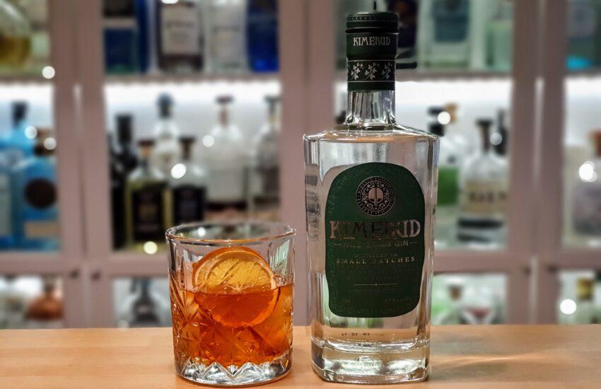 Negroni med Kimerud Wild Grade Gin