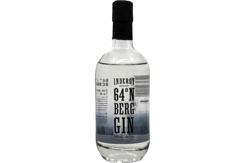 Inderøy Brenneri 64 grader Berg Gin