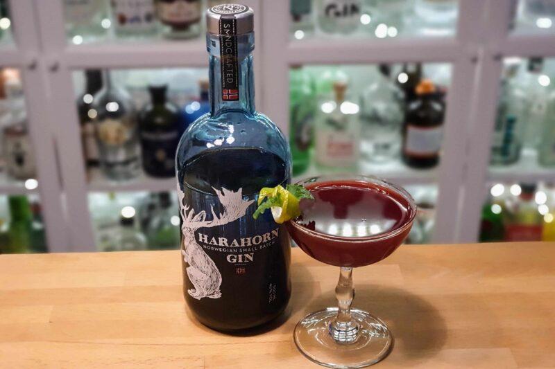 Solbær Gimlet med Harahorn Gin