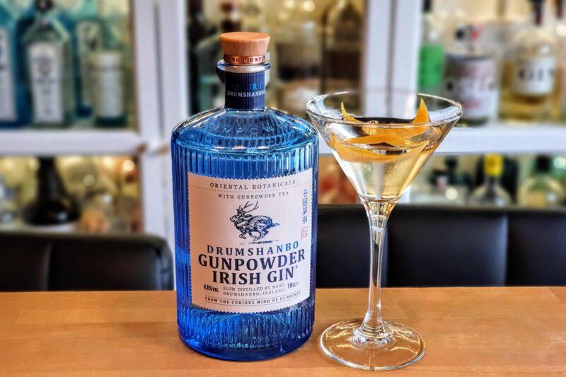 Dry Martini med Drumshandbo Gunpowder Irish Gin