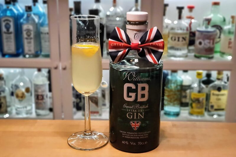 French 75 med Chase GB Extra Dry Gin