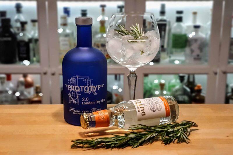 Gin og Tonic med Prototyp 2.0. Gin