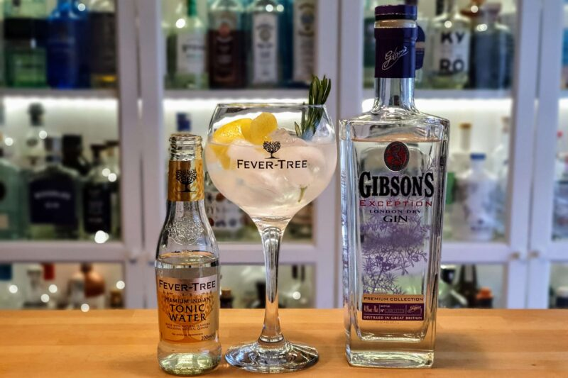 Gin Tonic med Gibson's Exception London Dry Gin