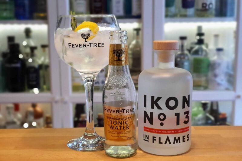 Gin Tonic med In Flames Ikon No 13 Gin
