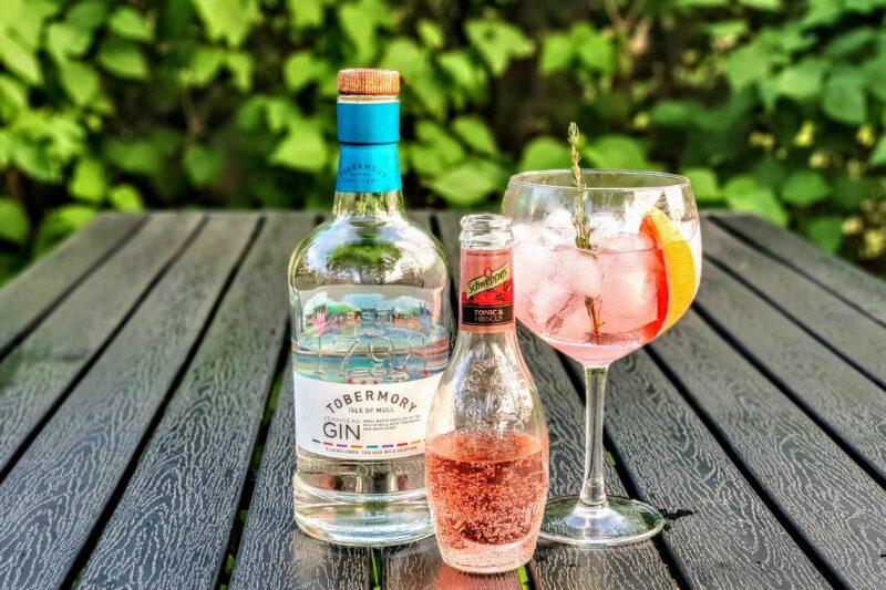 Gin Tonic med Tobermory Hebridean Gin