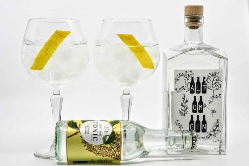 Gin og Tonic med Atlungstad Min Gin