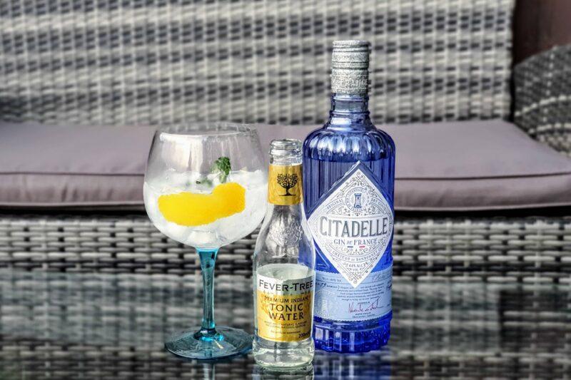 Gin og Tonic med Citadelle Gin de France