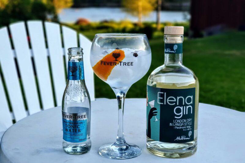Gin og Tonic med Elena Gin London Dry