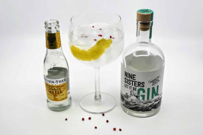Gin og Tonic med Feddie Ocean Nine Sisters Gin