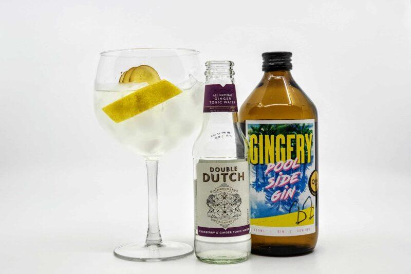 Gin og Tonic med Gingery Poolside Gin