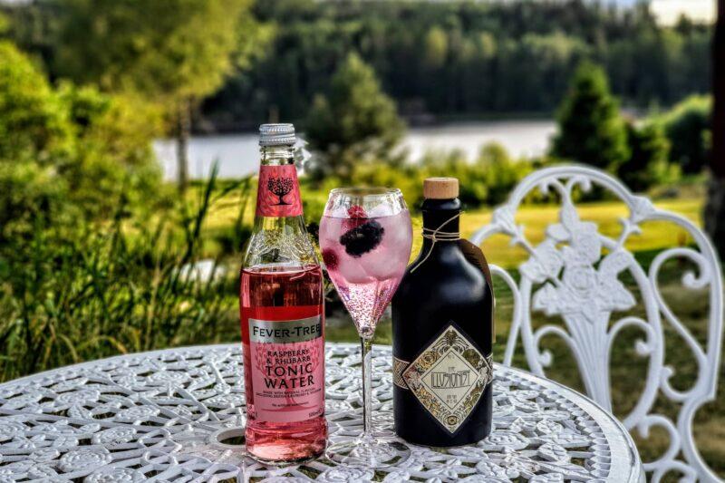 Rosa Gin og Tonic med The Illusionist Gin