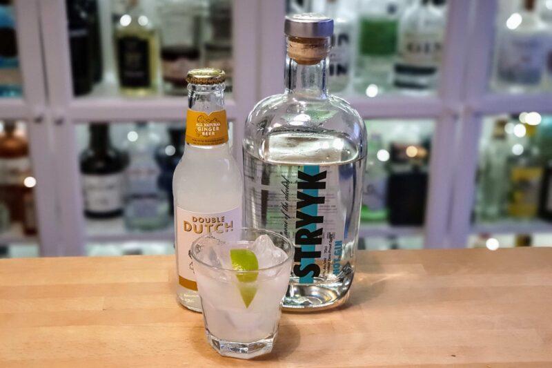STRYYK Not Gin med ingefærøl