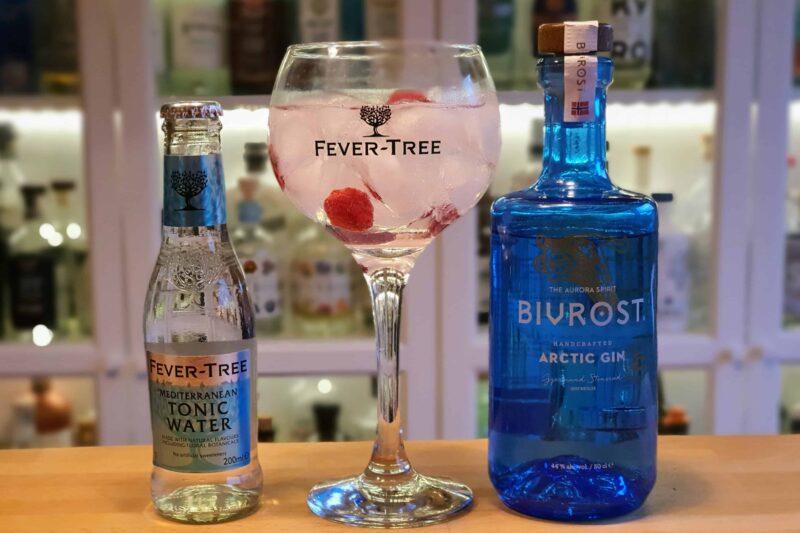 Sommerfrisk Gin og Tonic med Bivrost Gin