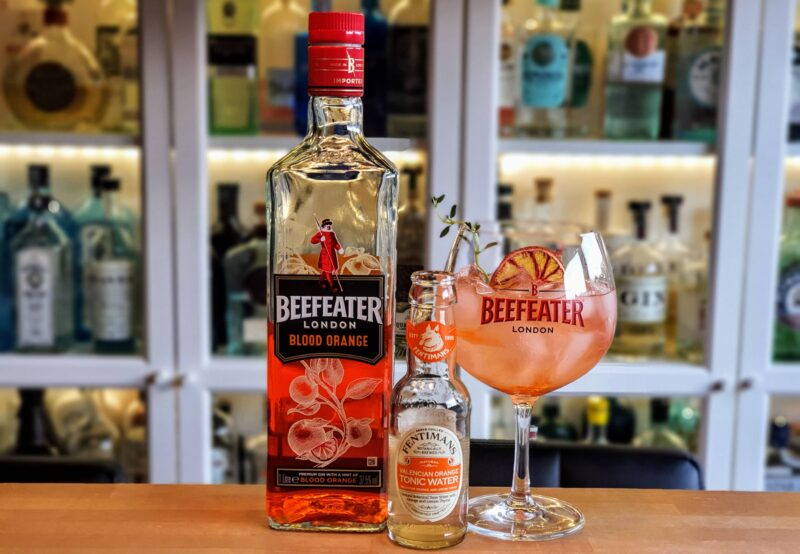 Gin-Tonic med Beefeater Blood Orange Gin