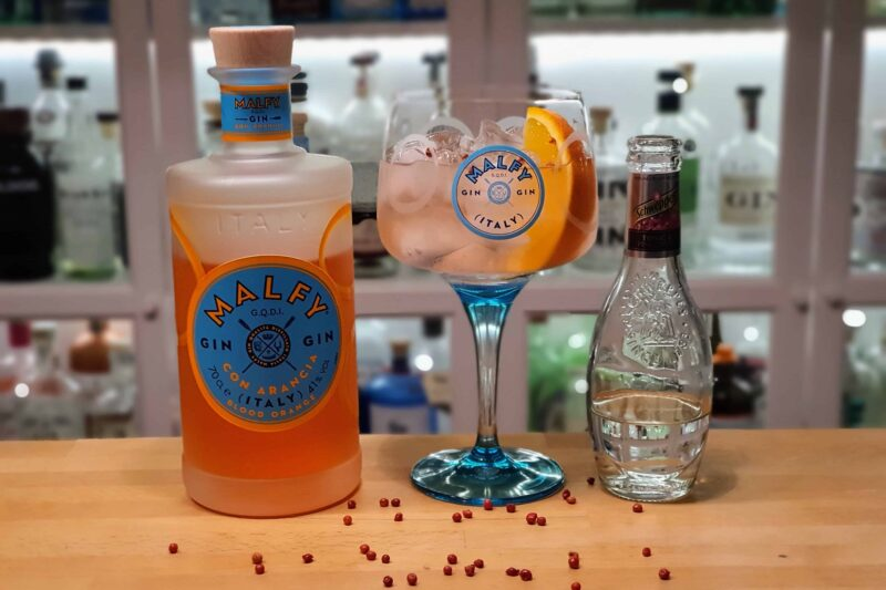 Gin & Tonic med Malfy Gin Con Arancia