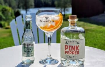Gin Tonic med Pink Pepper Gin