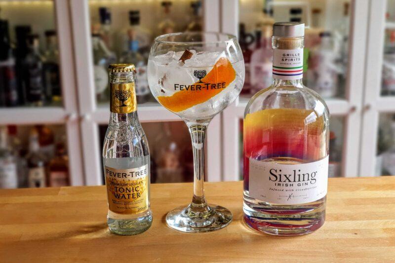 Gin Tonic med Sixling Irish Gin