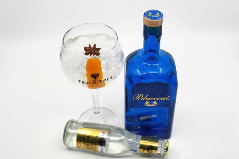 Gin og Tonic med Bluecoat American Dry Gin