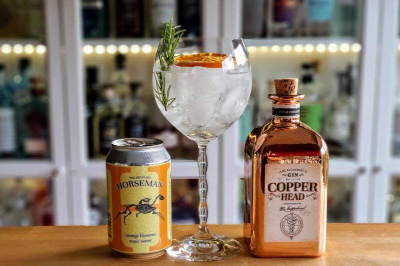 Gin og Tonic med Copperhead Gin