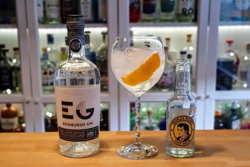 Gin og Tonic med Edinburgh Classic Gin