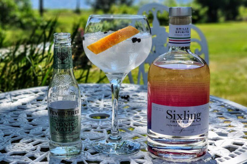 Gin og Tonic med Sixling Irish Gin
