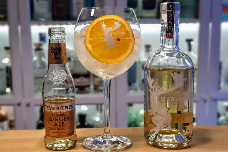 Harahorn Fatlagret Gin med ingefærøl