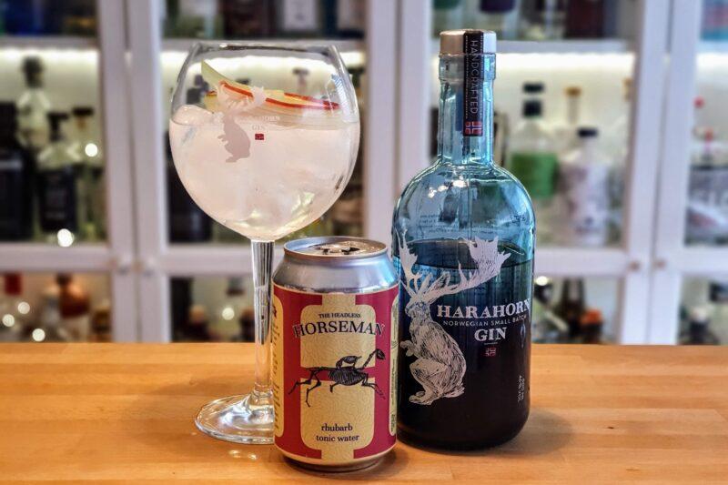 Rabarbra GT med Harahorn Gin