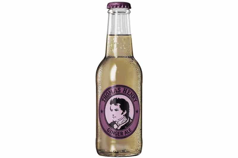 hvilke gin passer til Thomas Henry Ginger Ale