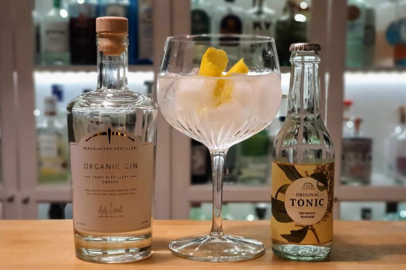Gin Tonic med Bergslagens Organic Gin
