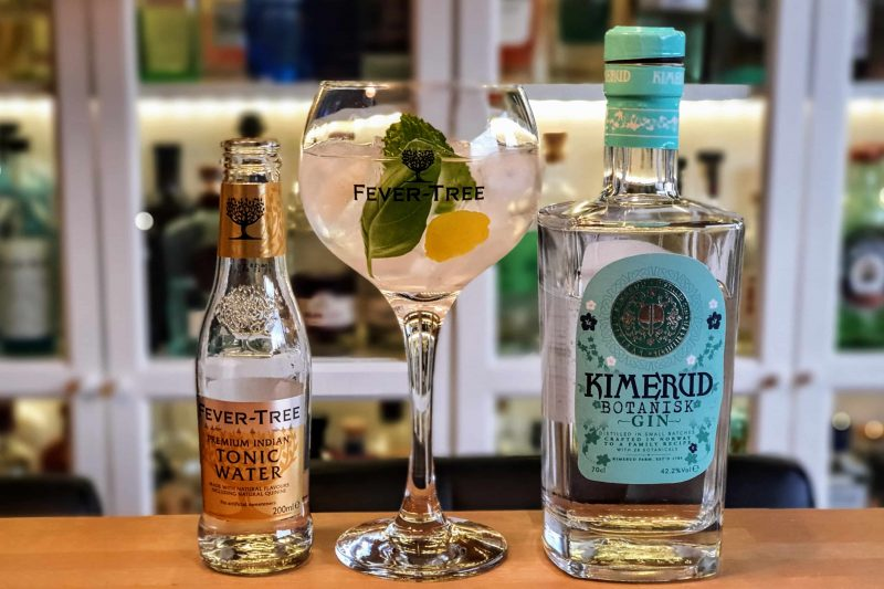 Gin Tonic med Kimerud Botanisk Gin