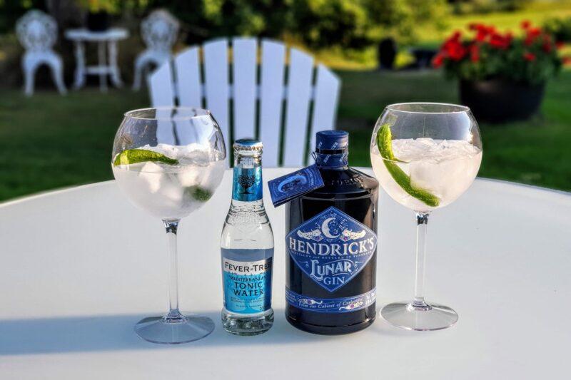 Gin og Tonic med Hendrick's Lunar Gin