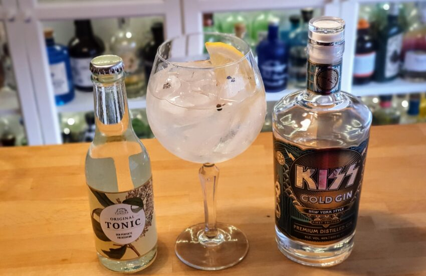 Gin og Tonic med Kiss Cold Gin