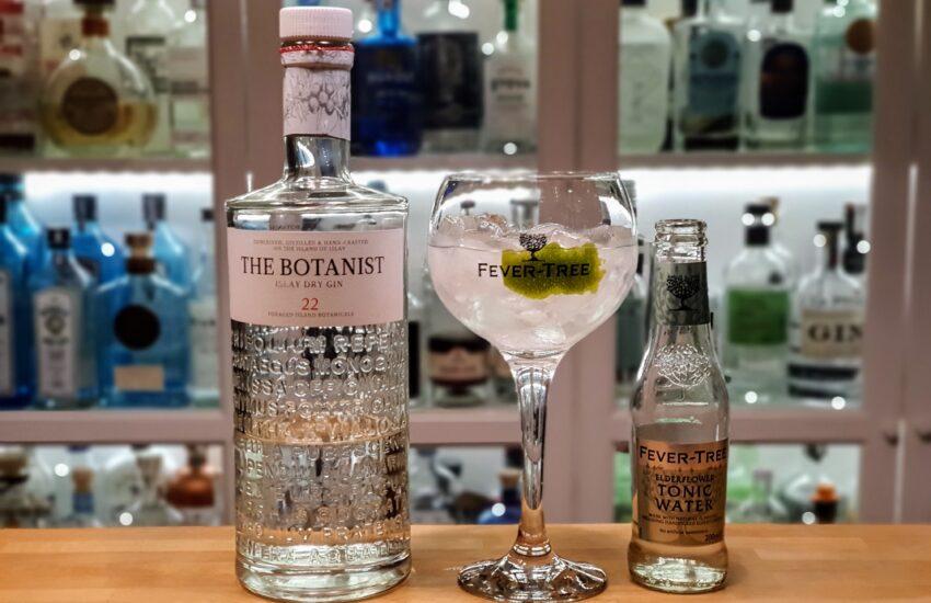 Gin og Tonic med The Botanist Gin