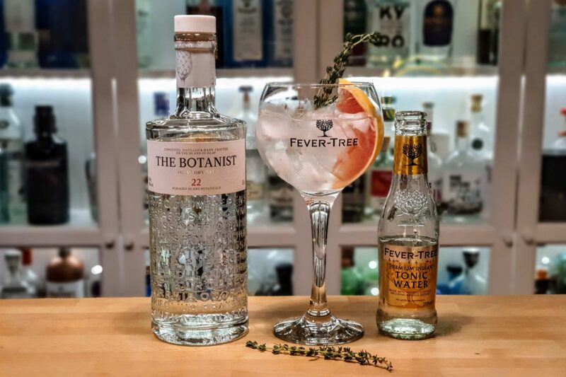 Gin og Tonic med The Botanist Islay Dry Gin
