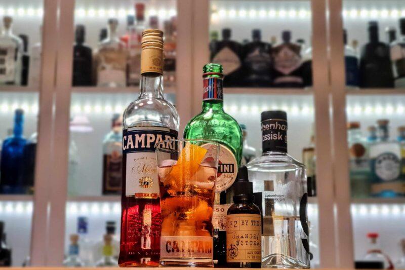 Negroni med København klassisk gin